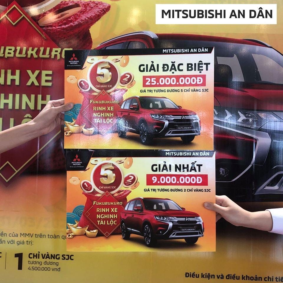"""Khuyến mãi Tháng 3/2017 """"FUKUBUKURO - Rinh xe nghinh tài lộc"""""""